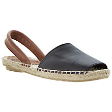 Buy Bertie Jarrow Espadrille Slingback Leather Sandals Online at johnlewis.com