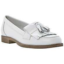 Buy Dune Lennon Fringed Tassel Leather Loafers Online at johnlewis.com