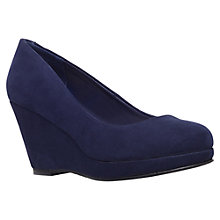 Buy Miss KG Candy Court Shoes, Navy Online at johnlewis.com