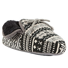 Buy John Lewis Lilly Bootie, Black/ Cream Online at johnlewis.com
