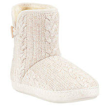 Buy John Lewis Clover Button Boot Slipper Online at johnlewis.com