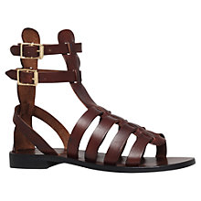 Buy Kurt Geiger Azelea Flat Leather Sandals Online at johnlewis.com