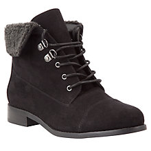 Buy John Lewis Erin Fur Trim Boots Online at johnlewis.com