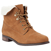 Buy John Lewis Erin Faux Fur Trim Boots Online at johnlewis.com