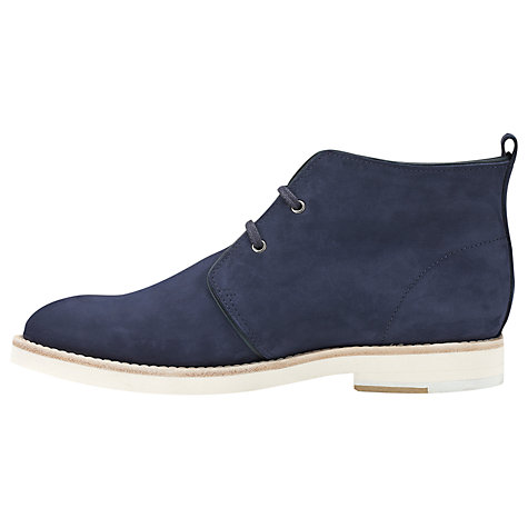 Buy Whistles Robyn Desert Ankle Boots, Navy Online at johnlewis.com