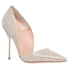 Buy Kurt Geiger Bond Leather Stiletto Heels Online at johnlewis.com