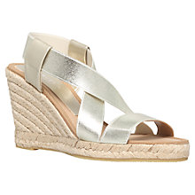 Buy Carvela Kot Heel Wedges, Gold Online at johnlewis.com