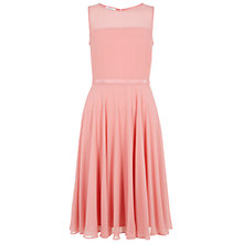 Buy Hobbs Invitation Abigale Dress, Peony Pink Online at johnlewis.com