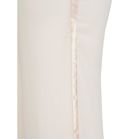 Buy Chesca Satin Trim Chiffon Trousers Online at johnlewis.com