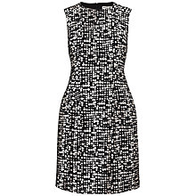 Buy Whistles Lucie Spot Dress, Black / White Online at johnlewis.com
