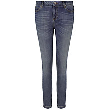 Buy Whistles Powder Wash Skinny Jeans, Denim Online at johnlewis.com