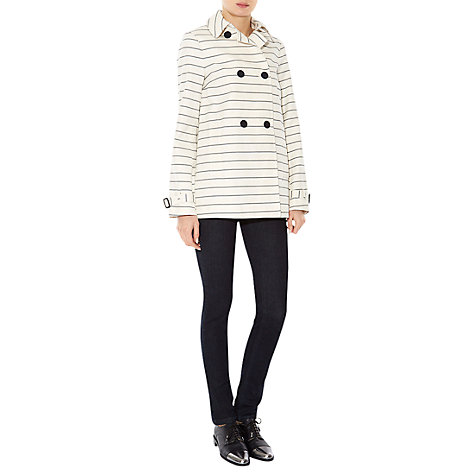 Buy Hobbs Skylar Mac, Ivory/Navy Online at johnlewis.com