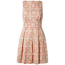 Buy Closet Star Print Cut Out Back Dress, Multi Online at johnlewis.com
