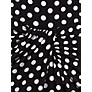 Buy Precis Petite Polka Dot Jersey Dress, Black Online at johnlewis.com
