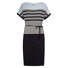 Buy Hobbs Jemma Dress, Navy Multi Online at johnlewis.com
