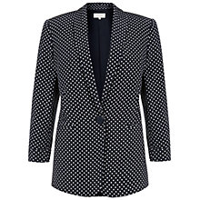 Buy Hobbs Collins Jacket, Navy Online at johnlewis.com