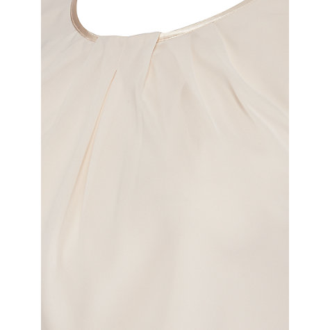 Buy Chesca Chiffon Camisole, Cream Online at johnlewis.com