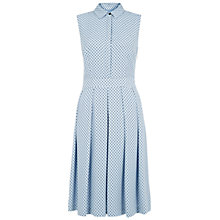 Buy Hobbs Sarah Dress, Pastel Blue Online at johnlewis.com