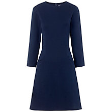 Buy Whistles Shona Jersey Dress, Navy Online at johnlewis.com