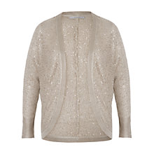 Buy Chesca Sequin Knitted Shrug, Barley Online at johnlewis.com