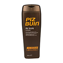 Buy Piz Buin In Sun Lotion Online at johnlewis.com