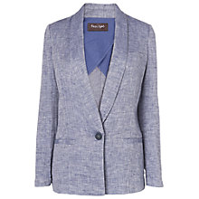 Buy Phase Eight Linen Larochelle Sky Jacket, Blue Online at johnlewis.com