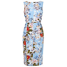 Buy Phase Eight Mara Shift Dress, Blue/Multi Online at johnlewis.com