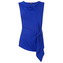 Buy Phase Eight Debbie Side Tie Top, Periwinkle Online at johnlewis.com