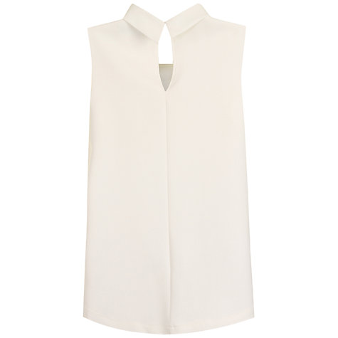 Buy True Decadence Turtle Neck Swing Top, Cream Online at johnlewis.com
