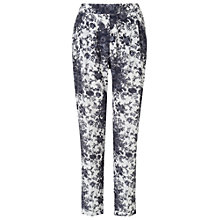 Buy Phase Eight Nanette Printed Trousers, Grey Online at johnlewis.com