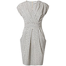 Buy Closet Cross Over Polka Dot Dress, Black/White Online at johnlewis.com