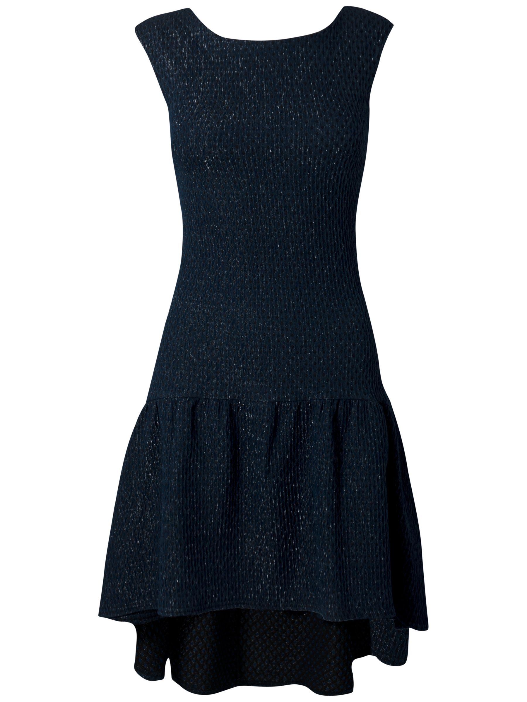 almari lurex pephem dress navy, almari, lurex, pephem, dress, navy, 10|8, women, womens dresses, special offers, womenswear offers, womens dresses offers, 1407502