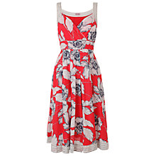 Buy Phase Eight Poppy Print Dress, Gerbera Online at johnlewis.com