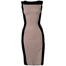Buy Closet Contrast Bodycon Dress, Pale Pink Online at johnlewis.com