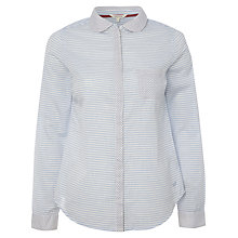 Buy White Stuff Charlston Stripe Shirt, Picket White Online at johnlewis.com