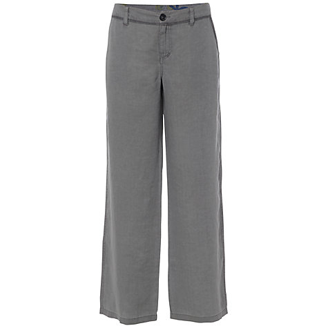 Buy White Stuff Lemon And Lime Wide Leg Trousers, Miso Grey Online at johnlewis.com