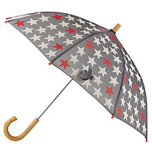 Buy Hatley Star Print Umbrella, Grey Online at johnlewis.com