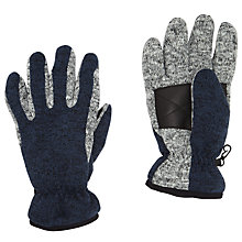 Buy John Lewis Thinsulate Gloves, Navy/Grey Online at johnlewis.com