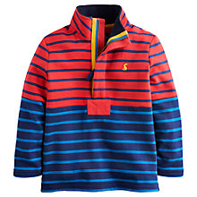Buy Little Joule Captain Stripe Sweatshirt, Multi Online at johnlewis.com