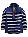 Little Joule Boys' Stripe Templeton Jumper, Blue