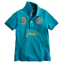 Buy Little Joule Boys' Junior Harry Polo Shirt Online at johnlewis.com