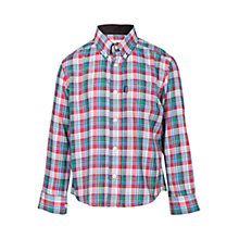 Buy Barbour Boys' Armadale Check Shirt, Multi Online at johnlewis.com