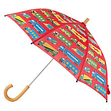 Buy Hatley Truck Print Umbrella, Red/Multi Online at johnlewis.com