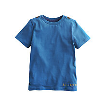 Buy Little Joule Boys' Archie Jet Pack T-Shirt, Blue Online at johnlewis.com