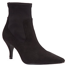Buy John Lewis Ava Ankle Stretch Boots, Black Online at johnlewis.com