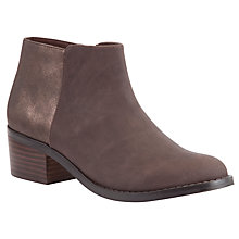 Buy John Lewis Rebecca Ankle Boots, Brown Online at johnlewis.com