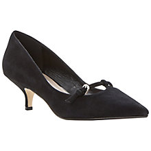 Buy Dune Alyce Kitten Heel Courts Online at johnlewis.com