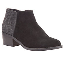 Buy John Lewis Rebecca Ankle Boots, Black Online at johnlewis.com