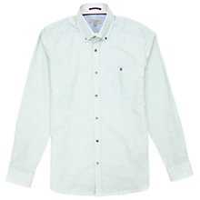 Buy Ted Baker Oakshir Micro Print Shirt Online at johnlewis.com