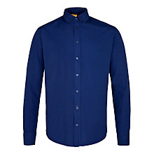 Buy BOSS Orange Edipoe Poplin Cotton Shirt Online at johnlewis.com